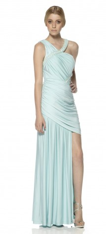 Full length evening dress. Evening Dress