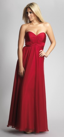 Grecian style chiffon evening gown Evening Dress